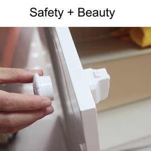 Wholesale Baby Safety Magnetic Child Lock Baby Safety Cabinet Lock Children Protection Kids Drawer Locker Baby Security Cupboard Childproof Latches