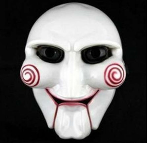 Wholesale saw puppet for sale - Group buy Halloween Mask Puppet Full Face Masquerade Halloween Carnival Face Masks Electric Saw Party Mask Plastic PC