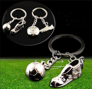 Wholesale Hot selling D World Cup Football Shoes Metal Keychain Sport kering