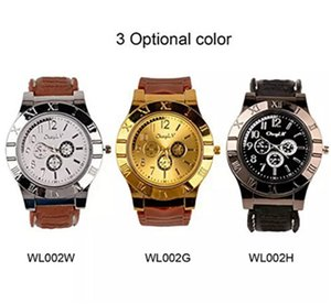 Wholesale Hot sale Watch Lighter In Rechargeable Electronic Lighter USB Charge Flameless Cigar Wrist Watches Lighter Business Gifts