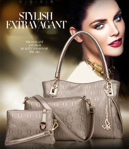 Wholesale Womens Designer Handbags Set Luxury Tote Should Bag Fashion Black Golden Yellow Beige White Blue Color For