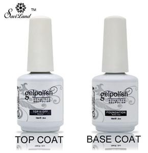 New Soak Off Gel Lacquer Professional 15ml Gelpolish Base and Top Coat Varnishes Primer Nail Art Uv Gel Nail Polish