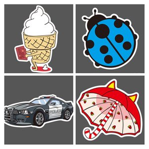 Wholesale Hot Pieces Car Stickers Random Decals Patterns Bumper Cool Vinyl for Laptop Bedroom Travel Case Luggage Bike Bicycle Motorcycle Snowboard