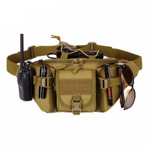 Tactical Molle Bag Waterproof Waist Bag Waterproof Hunting pockets Sports hiking Camping Waist Bags men Bag Belt