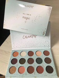 Wholesale Colourpop All I See is Magic Colors Eyeshadow Palette Glitter Matte Shimmer Makeup Eyeshadows Palette