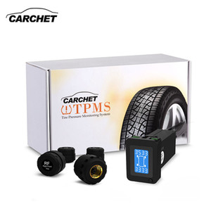 CARCHET TPMS Car Tire Pressure Monitoring System Auto Diagnostic-tool Tire Alarm Intelligent System 4 External Sensor For Toyota