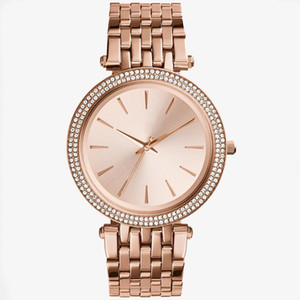 Wholesale Wholesales Ultra thin clock rose gold woman diamond flower watches brand luxury nurse ladies dresses female wristwatch gifts for girl9