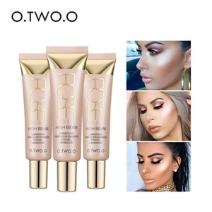 Wholesale O TWO O Highlighter Base Face Primer High Light Brighten Long lasting Face Primer Oil Control Moisturizing Waterproof Cosmetic Make Up Cream