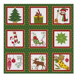 Wholesale Gifts Paintings Diy Christmas Lights Decorations Diy Diamond Painting cartoon Christmas tree d d Cross Stitch Kits Sticker Decor
