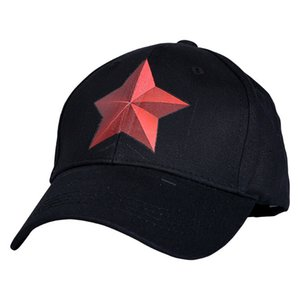 Wholesale Kids Pentagram Baseball Caps years old Red star Hip hop Caps Snapback hats children Baby Boys Girls hat Sun hat