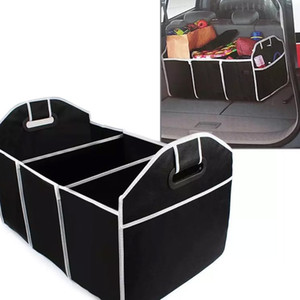 Wholesale container shipping resale online - Foldable Car Storage Boxs Bins Trunk Organizer Toys Food Stuff Storage Container Bags Auto Interior Accessories Case Can FBA Ship HH7