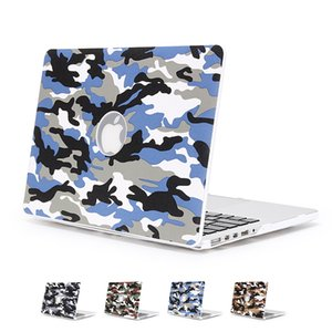 Wholesale Fashion Camouflage Rubberized Laptop Hard Case Camouflage Hard Shell Notebook Protective Cover for Macbook 13 15.4 Pro 11 13 inch Air
