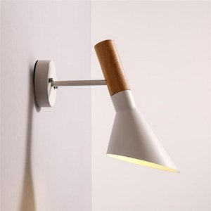 Wholesale AC110V V Modern Nordic American Arne Jacobsen AJ Wall Lamp White bedroom living room bed Vintage indoor wall light sconce Cafe Bar Lustre