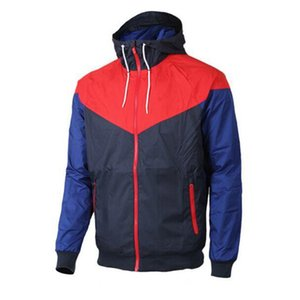 Wholesale Men Spring Autumn Windrunner jacket Thin Jacket Coat Men sports windbreaker jacketothes Windbreaker Coats sweatshirt tracksuit