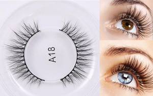 Wholesale natural look private logo hand made D mink False eyelashes Messy Lashes D Real Mink False Eyelashes Japanese korean fashion