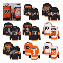 Wholesale #28 Claude Giroux 2018 Stadium Series men Philadelphia 53 Shayne Gostisbehere 17 Wayne Simmonds 11 Konecny 93 Voracek Hockey Jersey