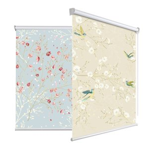 Wholesale China modern painting blinds flower and bird printed blinds Tree landscape Digital Printed Blackout roller