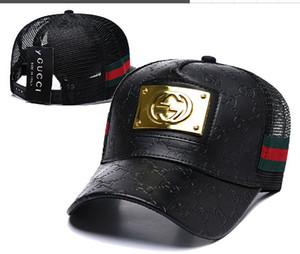 Luxury cap brand designer G G High Quality Snake Men Women Mesh Hats Cotton Adjustable Golf Classic Curved Snapback Caps Outdoor Dad Hat 15