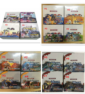 16styles Trading Game sun & moon evolutions xy Games English Edition Anime Cards