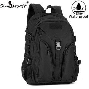 Wholesale waterproof backpacks resale online - SINAIRSOFT Tactical Nylon Climbing Shoulder Swiss Travel Bag Waterproof Outdoor Riding Backpack Computer camping backpack LY2015