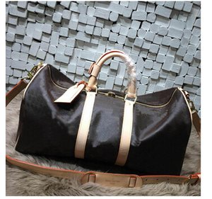 fashion men women travel bag duffle bag, brand designer luggage handbags large capacity sport bag 60CM