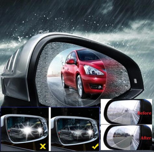 Wholesale Car rearview mirror rain film Reversing mirror antiglare anti fog film