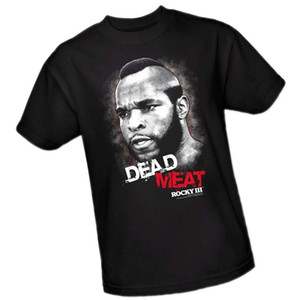 """Dead Meat"" -- Rocky III Youth T-Shirt Printed Tops Cotton Short Sleeve Funny Print Clothing Hip-Tope Mans T-Shirt Tops Tees"