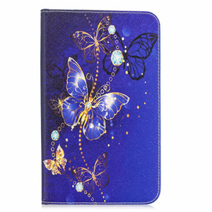 Wholesale Shell Cover for Samsung Galaxy Tab S2 SM T810 T813 T815 T819 Case Holder Bag with Tree Flower Butterfly Printing T810 T815 PEN