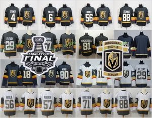 Wholesale 2018 Inaugural Season Patch Vegas Golden Knights 29 Marc-Andre Fleury 71 William Karlsson James Neal 56 Erik Haula Stanley Cup Final Jersey