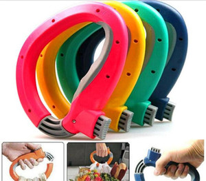 Wholesale Comfortable Soft One Trip Grip Handle Holders For Shopping Grocery Bag Household Convenience locks bags C021