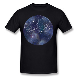 High Quality Men Cotton Fabric Galaxy Tee Shirts Men Round Collar White Short Sleeve Tee Shirts Extra large Size Crazy Tee Shirts