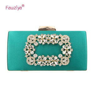 Wholesale Fawziya Flower Crystal Clutch For Women Large Evening Bags For Women Formal