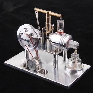 Wholesale 2018 Limited Hot Sale Metal Model Modelbouw Sterling Engine Physics Teaching Power Steam Hobby Collection Adult Gift Toys