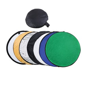 Wholesale reflector lights resale online - Lightdow cm in quot Colorful Portable Photography Studio Reflector Multi Photo Disc Collapsible Light Reflector