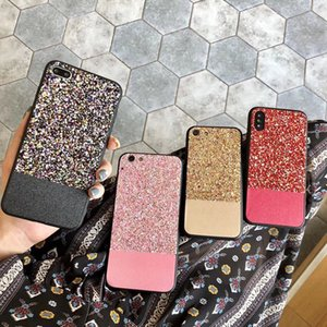 Wholesale gold shine powder for sale - Group buy Glitter Bling phone case for i6 Plus Fashion Cute Star Cover Shining Powder Phone Case Soft tpu Coque