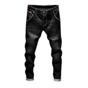 Wholesale Brand Stretch Denim Pants Slim Fit Jeans Men Casual Biker Denim Jeans Male Street Hip Hop Vintage Trouser Skinny Pant