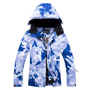 Wholesale 2019 new women's snow jacket outdoor sports snowboard waterproof clothing windproof breathable warm ski suit costumes