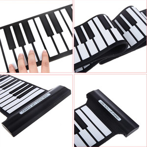 Wholesale piano keys for sale - Group buy 88 Keys USB Flexible Roll up Roll up Electronic Piano Keyboard