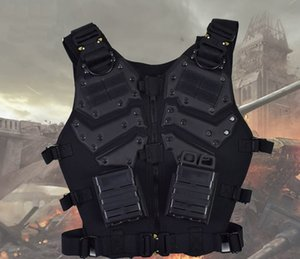 Wholesale Tactical Vest Outdoor Hunting Airsoft Vest Gilet Tactique Chaleco Combat Armor paintball vest outdoor tactical clothing with magazine
