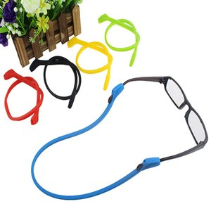 Wholesale Anti Slip Silicone Sunglasses Glasses Cords Eyeglasses Chain Cord Holder String Rope High Elastic Candy Color
