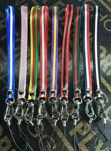 Wholesale Fashion mobile phone lanyard brand certificate hanging Neck Lanyard Mobile Accessories Accessories