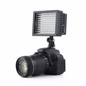 ingrosso canon videocamera hd-Freeshipping set Camera HD LED Lampada video luce LM K K Dimmerabile per Canon per Nikon Videocamera Videocamera