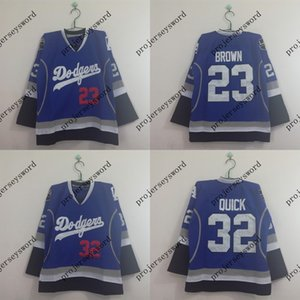 Wholesale Los Angeles King Blue Limited Hockey Jersey Dustin Brown Jonathan Quick Stitched Hockey Jerseys Cheap