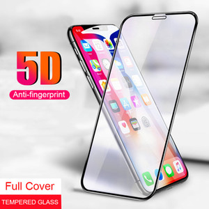 Wholesale 5D Edge Full Tempered Glass Screen Protector Cover Film For iPhone X Xr Xs Max S Plus With Retail Package