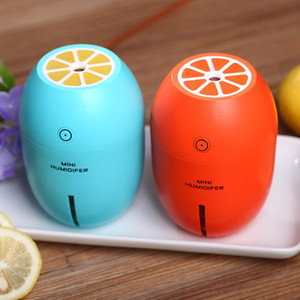 Wholesale electric essential oil diffuser resale online - Lemon USB Air Humidifier Essential Oil Diffuser With LED Night Light Electric Ultrasonic Air Humidifier Aroma Diffuser