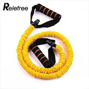 Wholesale Yoga Pull Rope Flexible Pull Rope Fitness Practical Chest Expander Yellow Durable Muscle Training Equipment Portable
