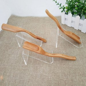 Wholesale 100pcs New Natural Handmade Bamboo Tea Spoon Coffee Scoop Teaspoon tea shovel Accessories Gift For Friends