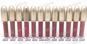 Makeup Lipgloss Frost Lip Gloss Lip Gloss tubes Snow Ball Matte Lip Gloss Golden Ice Crack Tube Lipgloss