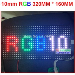 Wholesale 10mm pixel full color module indoor semi outdoor hub scan mm pixel smd in rgb display p10 led module