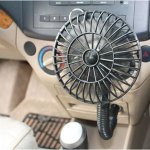 Wholesale VODOOL Portable V Car Vehicle Cooling Cool Air Fan Auto Car Cigarette Lighter Mini Summer Radiating Heatsink Fans Cooling Fan